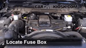 Interior Fuse Box Location: 20112017 Ram 2500  2015 Ram