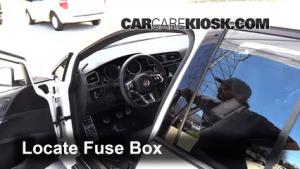 Interior Fuse Box Location: 20152017 Volkswagen GTI