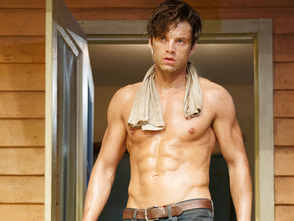 Sebastian Stan On The Challenge Of Going Shirtless In