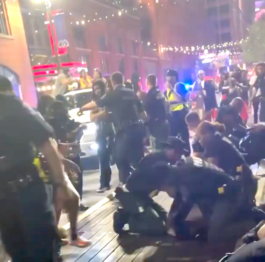 Video of large brawl in Greektown goes viral, Detroit police investigating