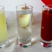 The best sangrita recipe is spicy, sweet, and savory. It is the best chaser to any tequila. A vegan recipe.