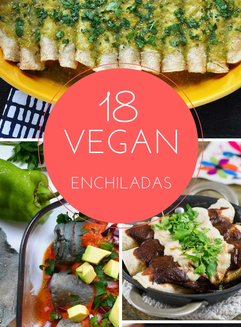 18 Delicious Vegan Enchiladas