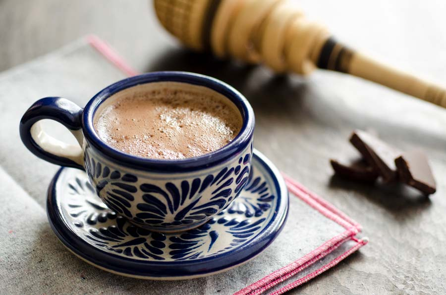 The Perfect Vegan Mexican Hot Chocolate