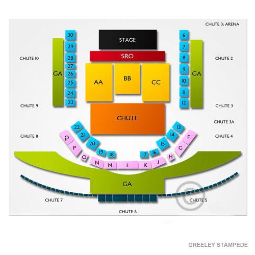 Greeley Stampede Seating Chart Concerts Brokeasshome Com