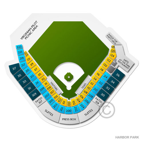 Columbus Clippers Seating Chart With Seat Numbers