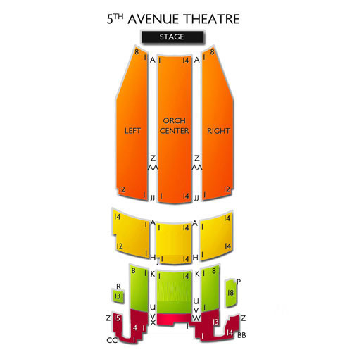 Avenue Chart 5th Theatre Seating