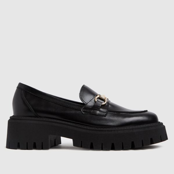 schuh Lilo Chunky Leather Loafer