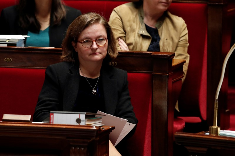 French Minister for European Affairs Nathalie Loiseau attends the questions to the government session at the National Assembly in Paris