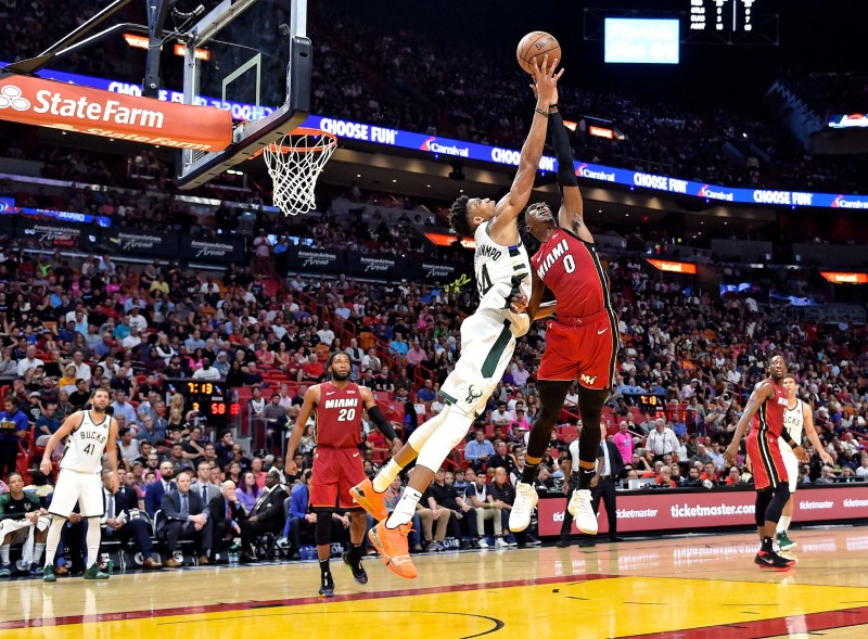 NBA: Milwaukee Bucks at Miami Heat