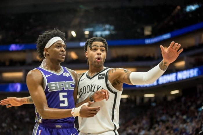 NBA roundup: Russell (44 points) rallies Nets past Kings