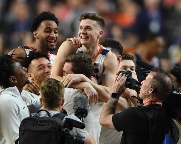 NCAA Basketball: Final of four semifinals-Virginia vs. Auburn