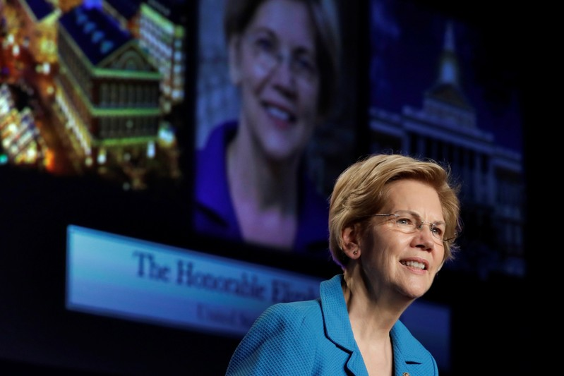 Senator Elizabeth Warren speaks at NABTU legislative conference in Washington