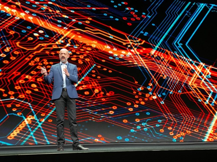 Arm Holdings Inc Chief Executive Simon Segars speaks at the company's annual user conference in San Jose