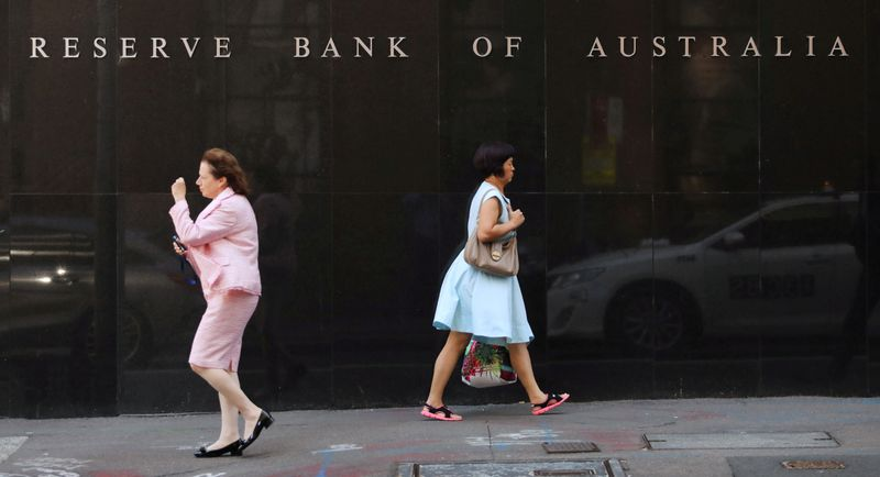Australia central bank says not obsessed with getting inflation back to target in a hurry