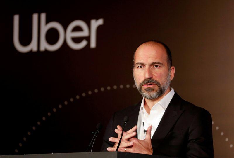 Uber ride-hailing business to take small coronavirus hit: CEO