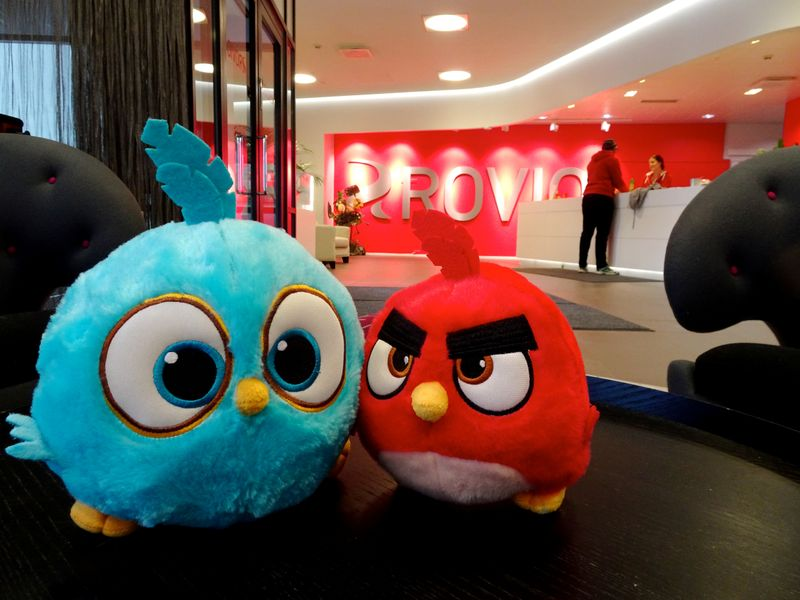 Angry Birds maker Rovio reports profit rise on lower costs