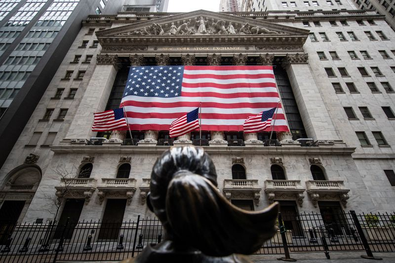 Wall Street closes with strong gains as recovery hopes offset pandemic fears