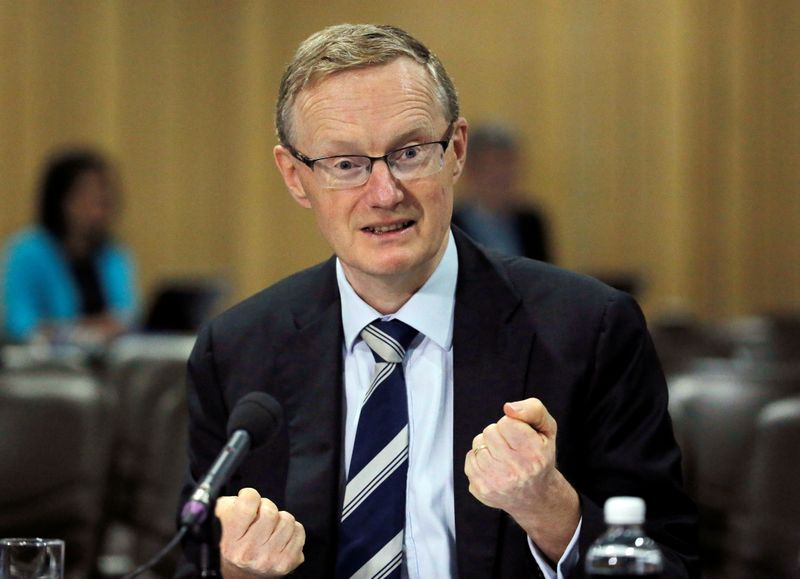 Australia's new Reserve Bank of Australia (RBA) Governor Philip Lowe speaks at a parliamentary economics committee meeting in Sydney