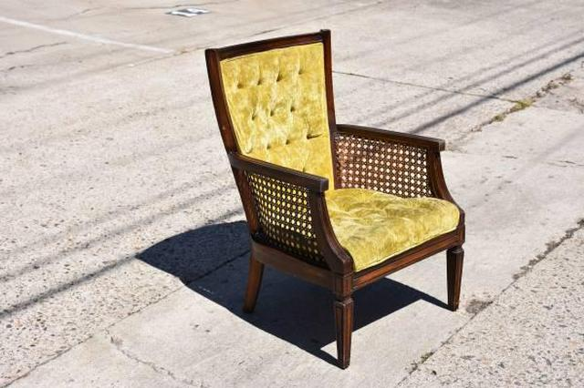 Light Yellow Accent Chair