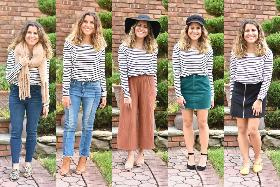 Five Ways to Style Stripes