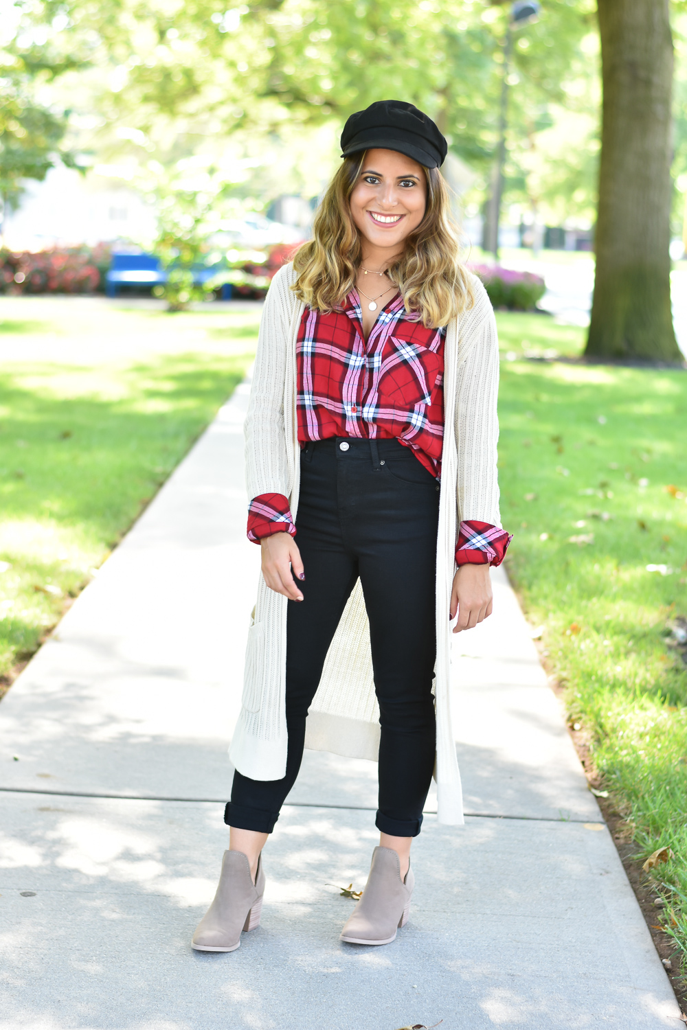 Three Ways to Style Plaid