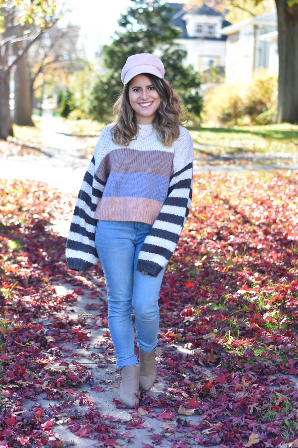 Colorblock Sweaters under $30