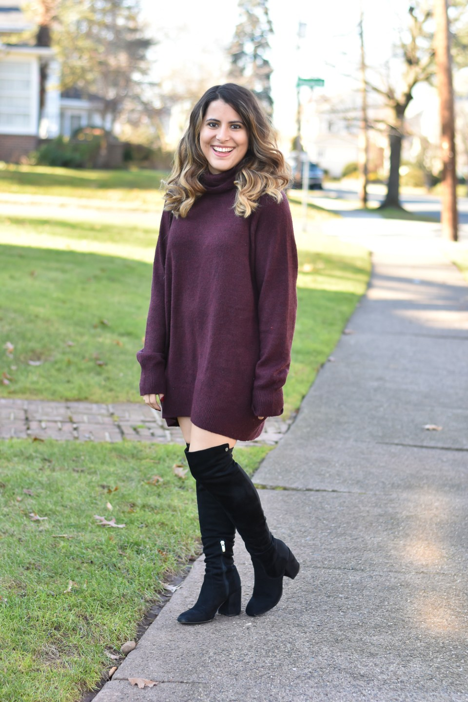 Sweater Dress + How to Use Pinterest for Your Blog