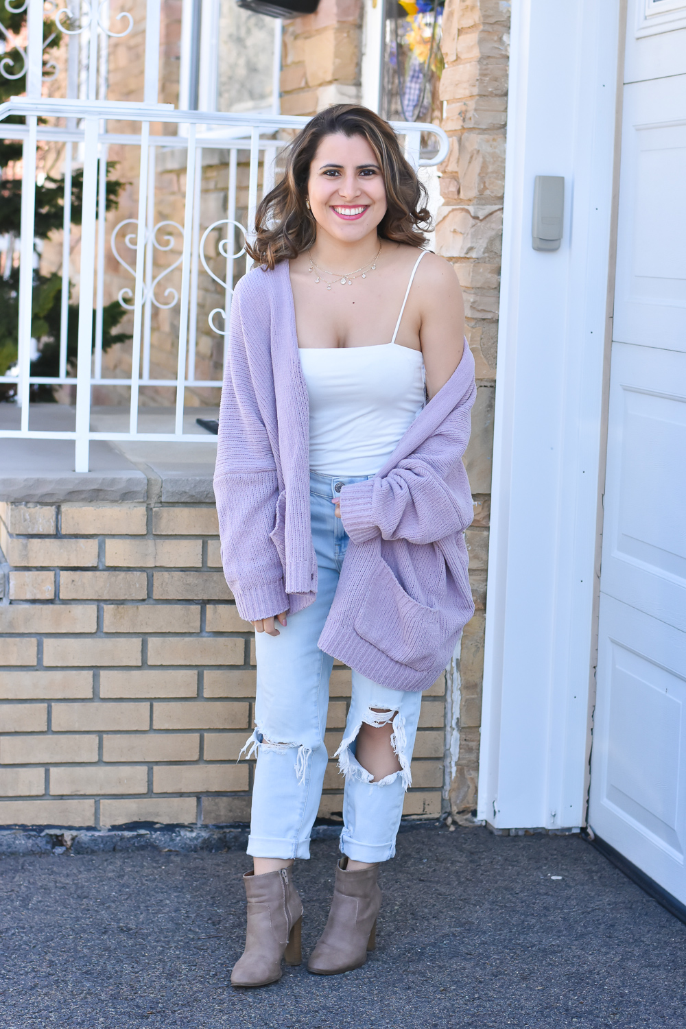Oversized Cardigan for Spring