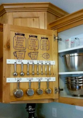 Awesome kitchen cupboard organization ideas 41