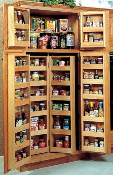 Awesome kitchen cupboard organization ideas 46
