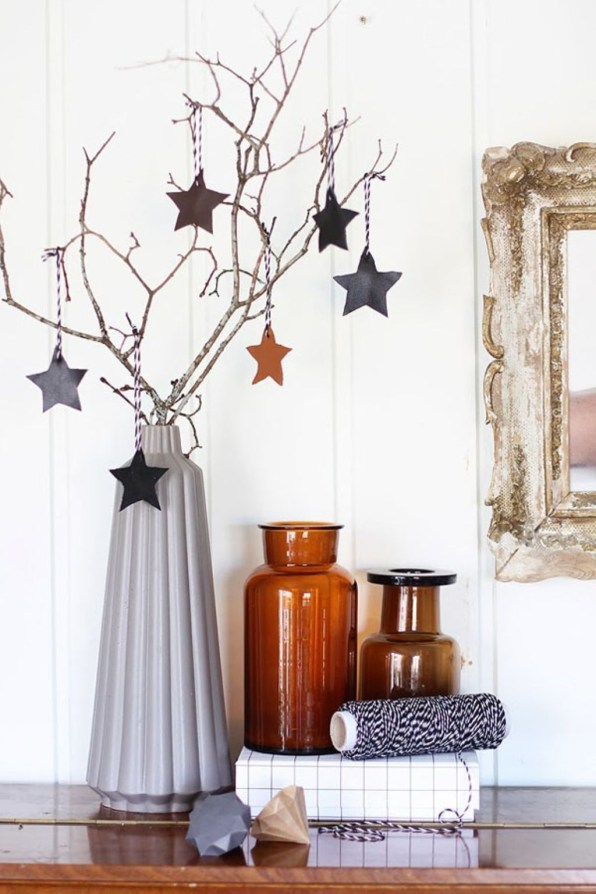 Diy decorating scandinavian christmas 42