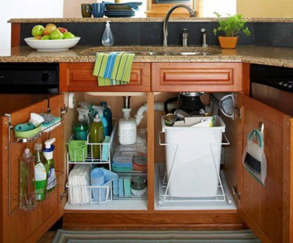 Diy organization rv ideas for the kitchen