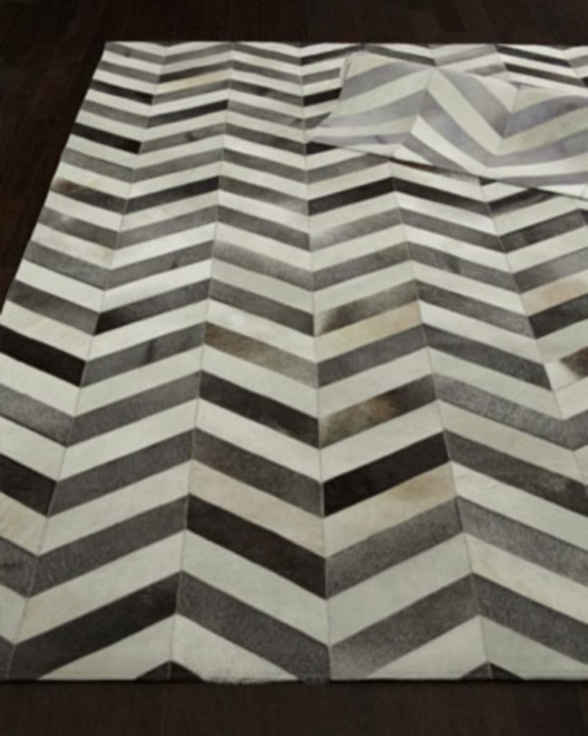 Elegant black herringbone tiles for your space 35