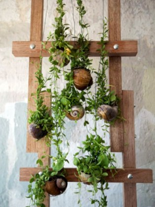 Gorgeous diy ladder-style herb garden 17
