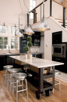 Gorgeous narrow kitchen with stunning details 35