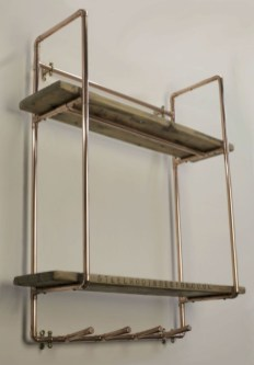 Stunning ideas to use copper pipes for your home decor 26