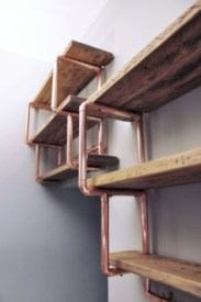 Stunning ideas to use copper pipes for your home decor 36