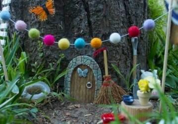 Super easy diy fairy garden ideas 10
