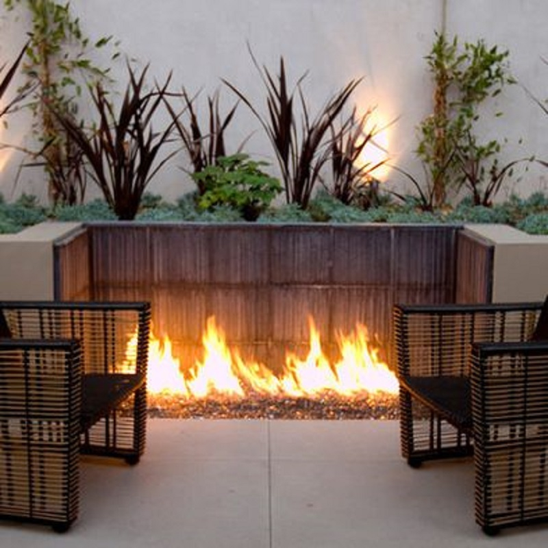 booth fire pit