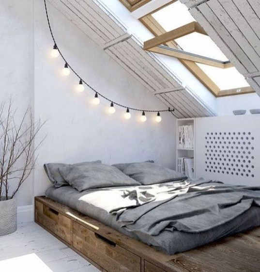 Easy and awesome wall light ideas for teens 06