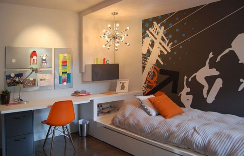 Easy and awesome wall light ideas for teens 33