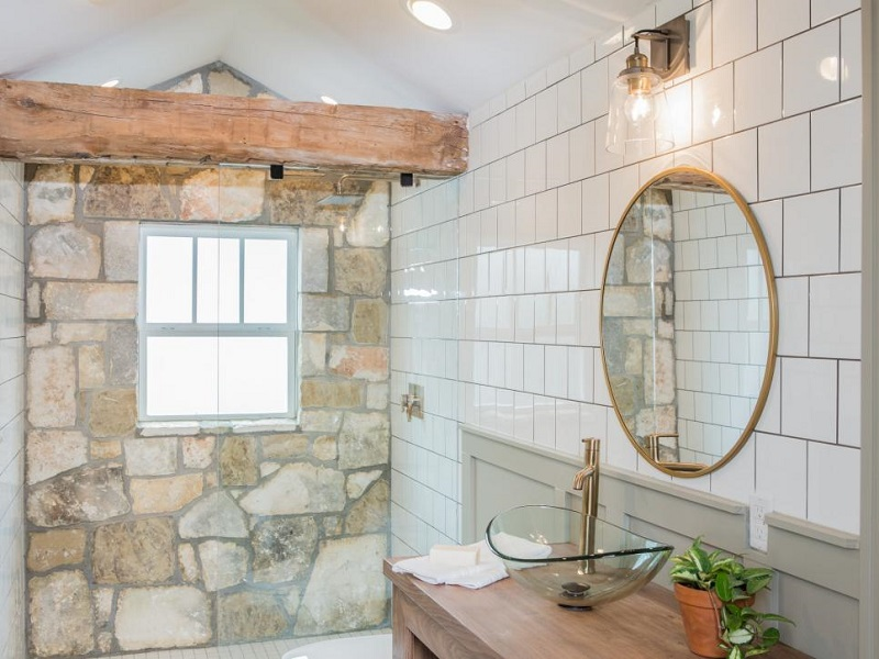 Forget bathtub, go with walk in shower