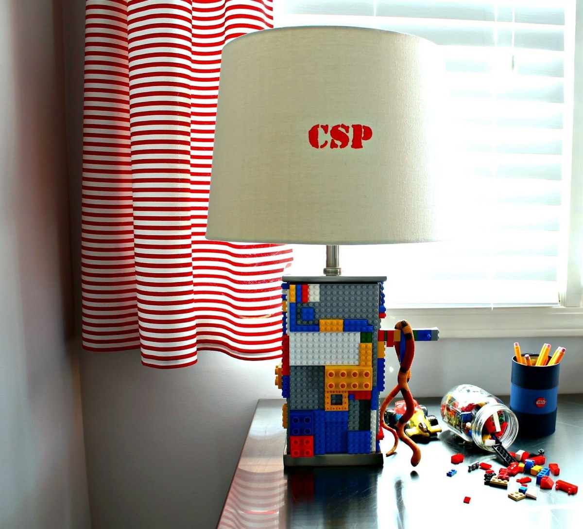 Lego lamp DIY Lamp Ideas To Revamp Your Old Lamp Into The Most Captivating Lamp Ever