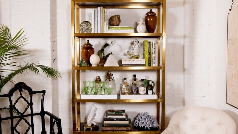Restyling old shelves