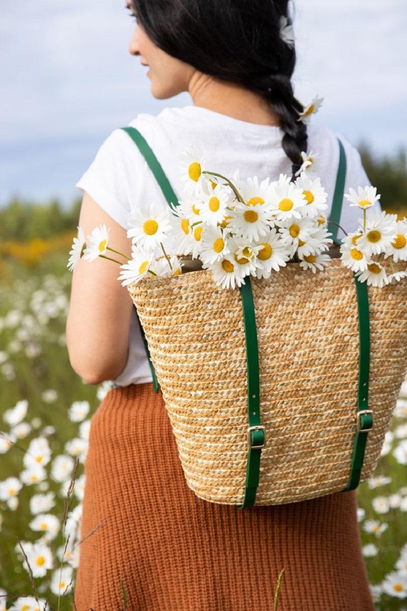 Basket backpack DIY Backpacks Ideas For Your Kids' Back-To-School Season