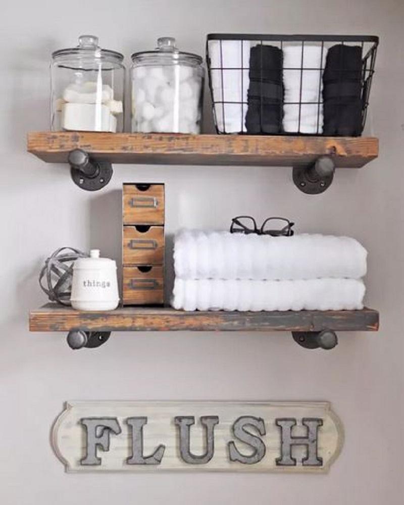 Diy bathroom storage