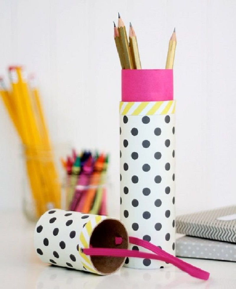 Diy pencil tube DIY Stylish Pencil Cases Ideas To Elevate Your Kids Style On School