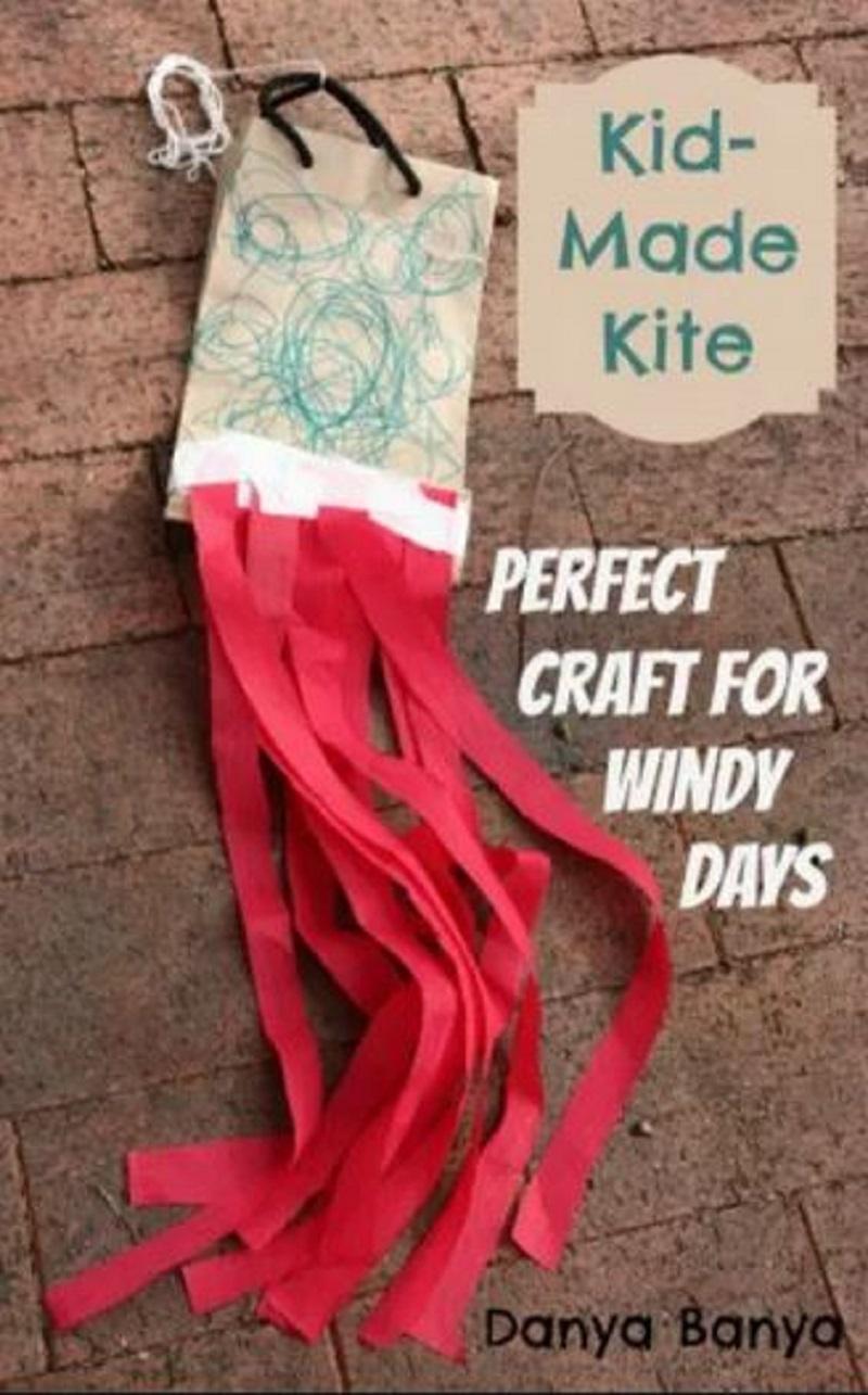 Easy kite for kids