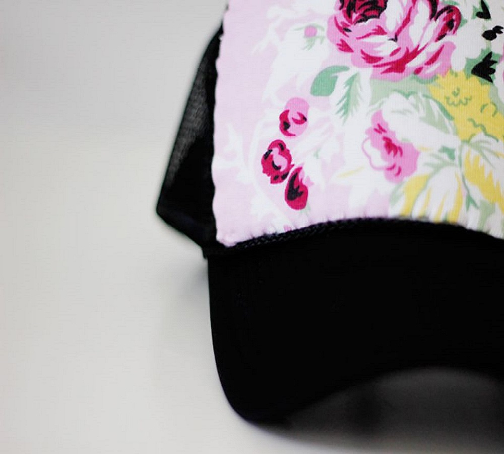 Extra fabric on a trucker hat DIY Hat Ideas That Requires Almost No Sewing And Precise Cuts Skill