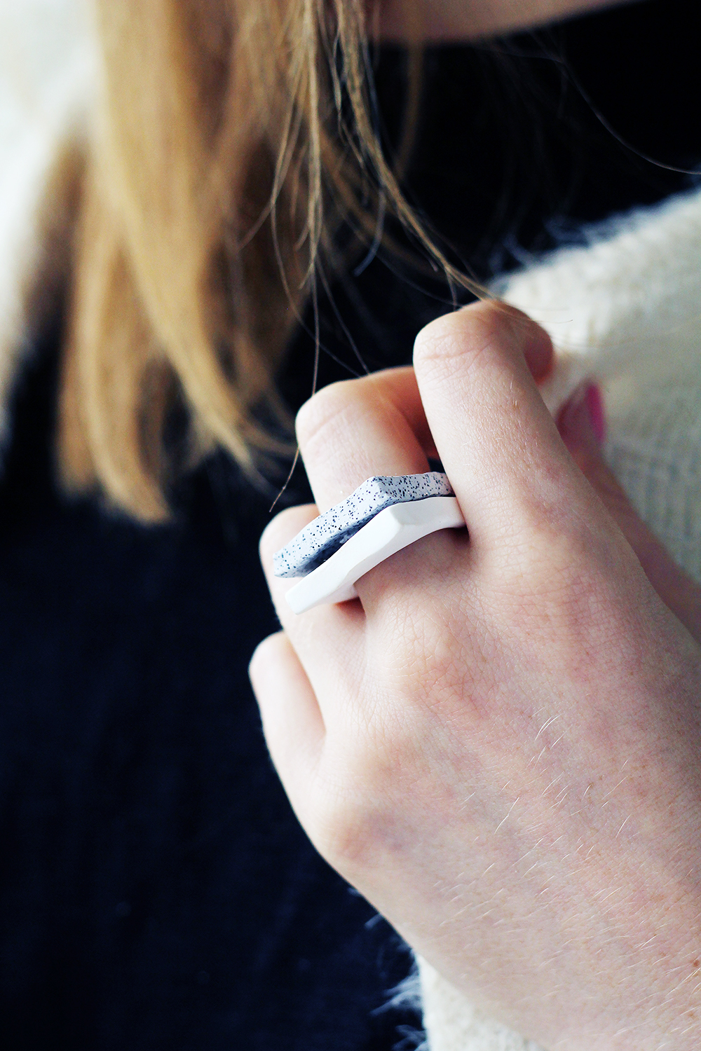Faux granite rings DIY Captivating Ring Ideas To Add More Gorgeous Collection